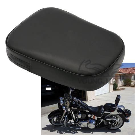 motorcycle seat motorcycle leather passenger seat backrest pillion cushion