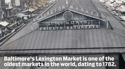 exploring lexington market s underground from the vault lexington market s underground vaults