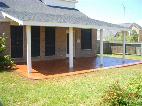 Attached Patio Cover Designs ? Simple Covered Patio