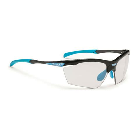 Kacamata Frame Rudy Project 2 rudy project agon cycling sunglasses with black gloss azure frame and impactx 2 photochromic