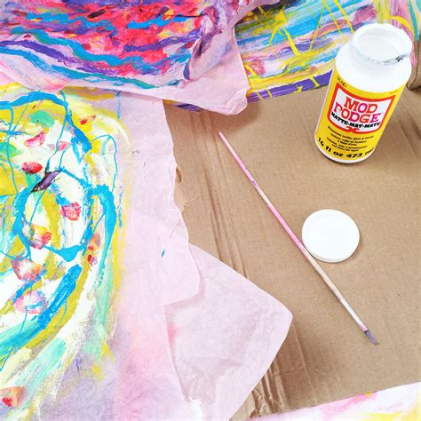 Thick Tissue Paper For Crafts - eric carle tissue paper oh creative day