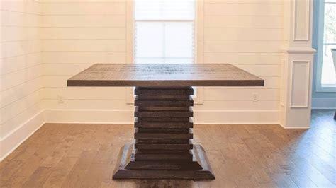 diy bar height table diy bar height dining room table woodbrew workshop