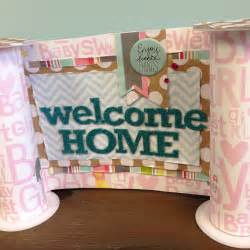 welcome home baby decoration ideas welcome home baby banner me my big ideas