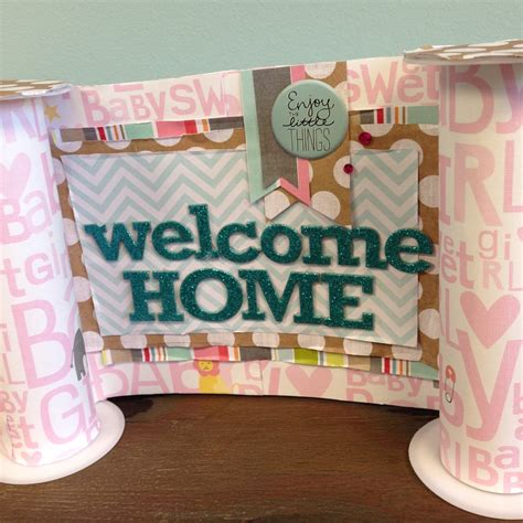 decorations for welcome home baby welcome home baby banner me my big ideas