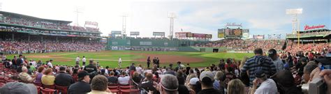 fenway park section 42 fenway park panoramas 171 cook sons baseball adventures