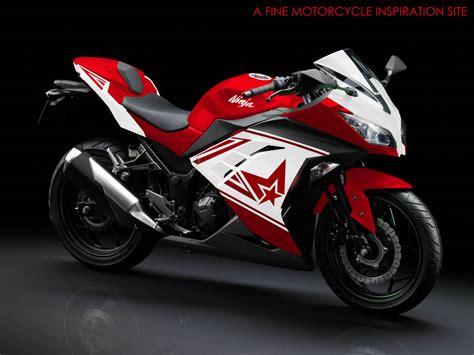 modif striping kawasaki 250r fi motoblast