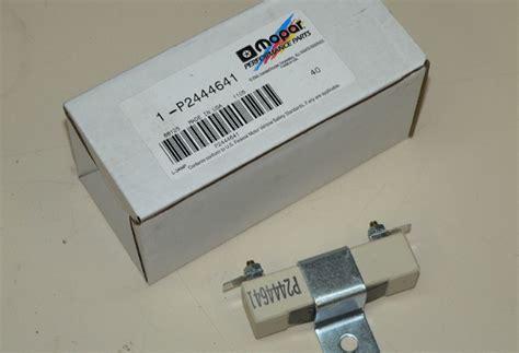 testing ballast resistor mopar ballast resistor test 28 images mopar ballast resistor wiring diagram