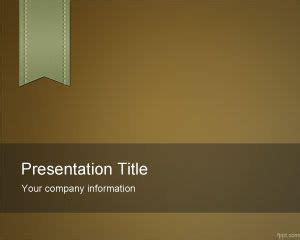 Brown Color Powerpoint Template Best Academic Powerpoint Templates
