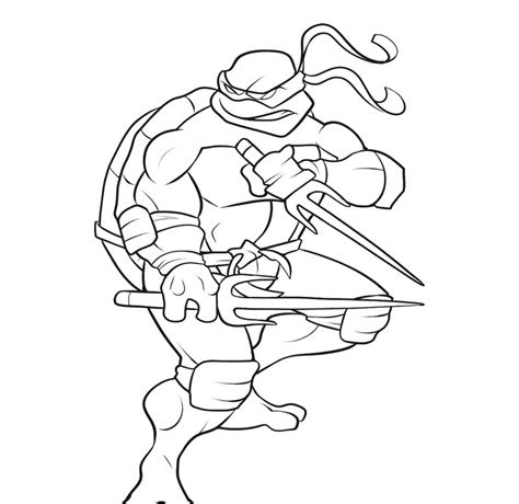 ninja turtle coloring page az coloring pages