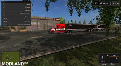 maps to the trailer wilson 2 axle grain trailer mod farming simulator 17