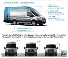 ford details all new transit styles and transit