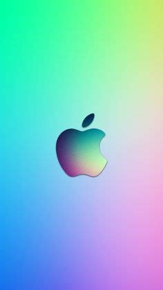 Apple Mac Brand Logo Iphone Wallpaper 4 4s 55s 5c 66s Plus apple logo light green background simple flat illustration