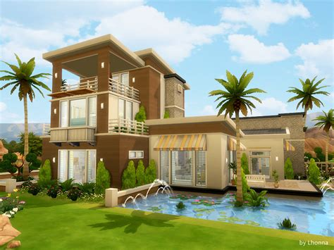 dream house summer dream house sims 4 houses