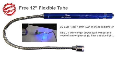 uv leak detector light sunlite 395 nm uv led lights