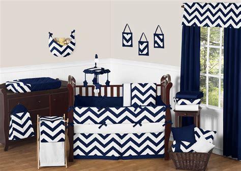 navy blue and white crib bedding chevron navy and white crib bedding collection