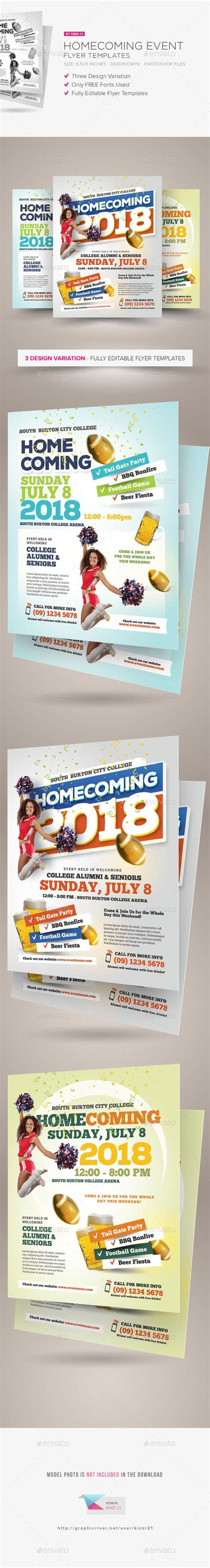 Event Flyers Flyer Template And Flyers On Pinterest Homecoming Flyer Template