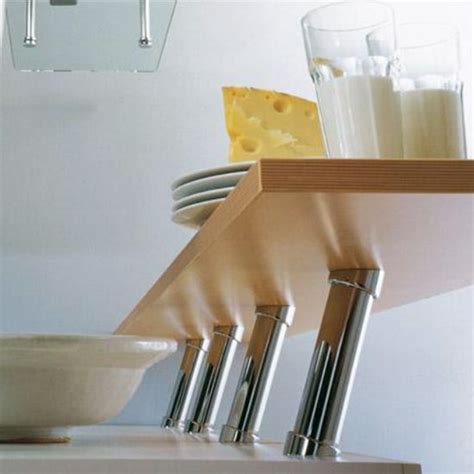 Kitchen Countertop Support Brackets by Cabinet Storage Countertop 20 176 Cantilever Angled Bar