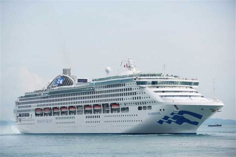 princess cruises singapore sea princess emerges from dry dock in singapore 183 etb