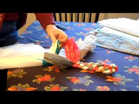 how to make rugs from plastic bags braided plastic bag rug part 1