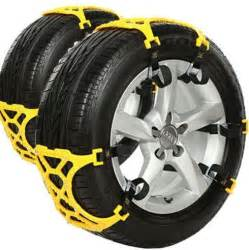 Car Tire Chains Target How To Drive In The Snow And Tire Chain Alternatives