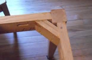 Rail Planter Box by Attaching Table Legs With A Dowel Jig