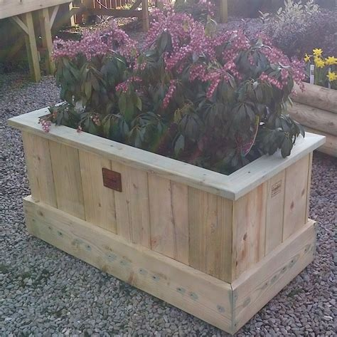 garden planters garden planter large the wooden workshop oakford