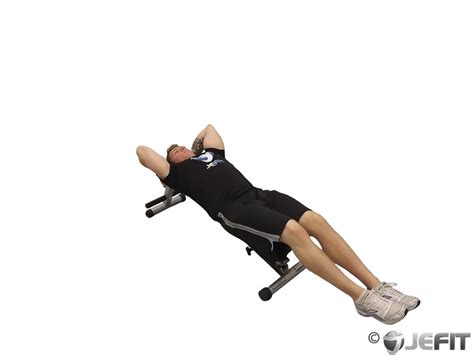 leg raise on bench decline bench leg raise with hip thrust exercise