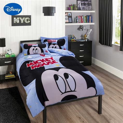 home design bedding down alternative disney cartoon mickey mouse printing bedding sets children