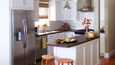 Small Kitchen Arrangement Ideas by 20 Spacious Small Kitchen Ideas