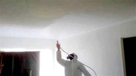 peinture d un plafond a l airless en temps r 233 el www
