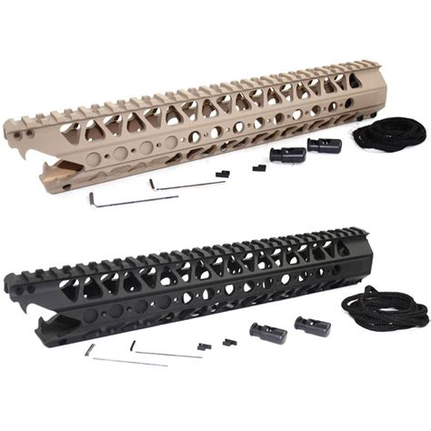 Big Ris Lvoa And Viper 13 5 Inch picatinny rail 13 5 inch 16 2 inch lvoa c viper handguard rail system for aeg airsoft