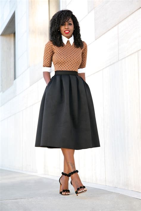 button shirt midi dress midi skirt style