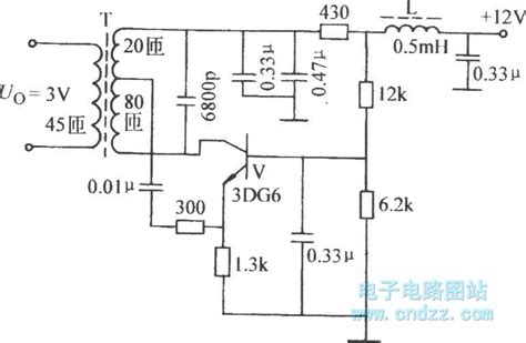 inductor in an lifier circuit common emitter inductor feedback oscillator circuit oscillator circuit signal processing