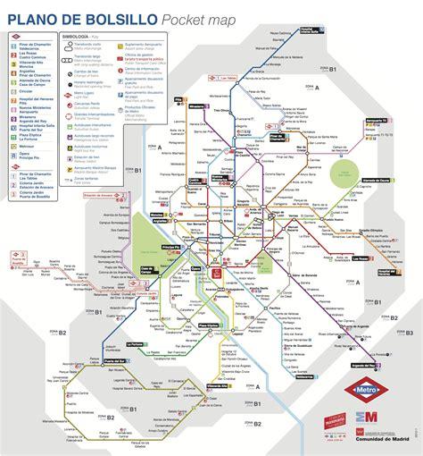 plano metro de madrid nuevo plano metro madrid 2013