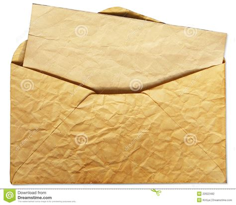 cover letter envelope envelope with letter inside stock photography image