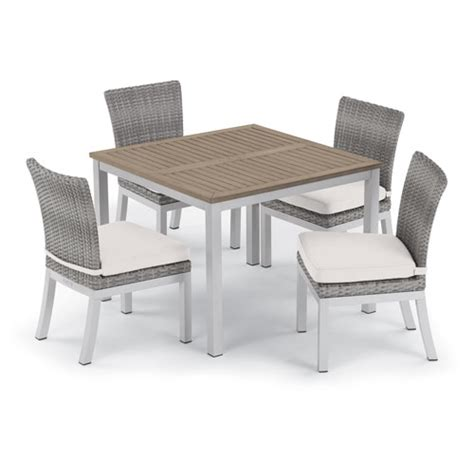 oxford garden travira dining table oxford garden travira 5 39 inch dining table and