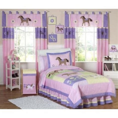 girls horse comforter horse bedding for girls