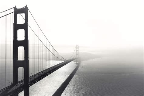 Black and white san francisco wallpaper mural murals wallpaper