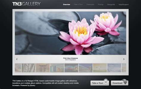 jquery mobile gallery 20 more fresh jquery image gallery slider plugins and