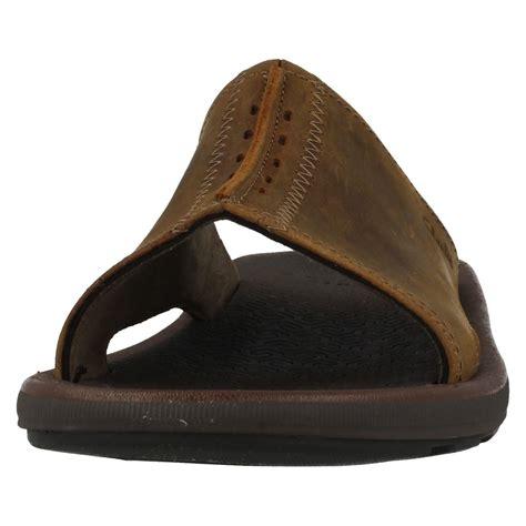 mule sandal mens clarks open toe mule sandal kernick shore ebay
