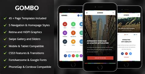 phonegap templates for android gombo mobile tablet responsive template latest news
