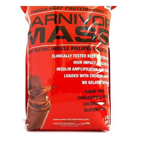 Carnivor Mass Musclemeds 10 Lbs proteina musclemeds carnivor mass 10 lbs sabor chocolate