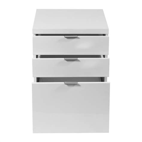 3 Drawer File Cabinet White Eurostyle Giorgia 3 Drawer File White Filing Cabinet Ebay