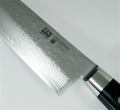 High Carbon Stainless Steel Kitchen Knives yaxell zen 37 layers vg 10 damascus hammered santoku knife