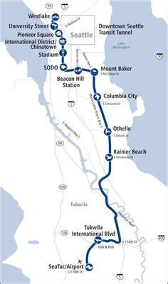 seattle map light rail seattle light rail map soundtransit seattle light rail