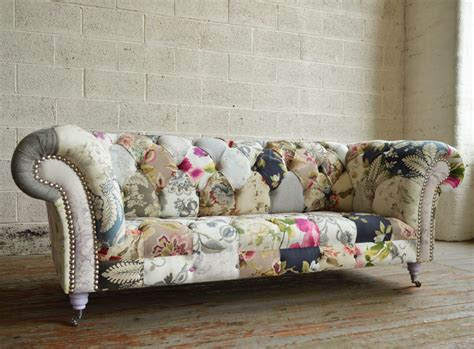 Patchwork Couches - grace patchwork chesterfield sofa abode sofas