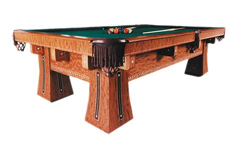 Golden West Pool Table by The Kling 14958 International Billiards