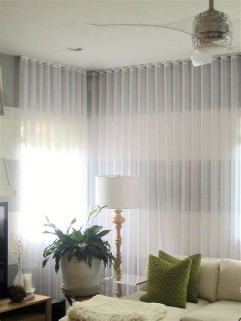 charming sheer curtain privacy designs