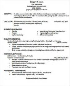 Resume Exles Of Objective Statement 7 Sle Resume Objective Statement Free Sle