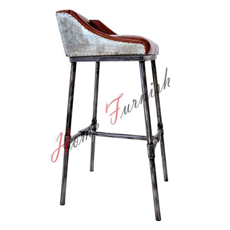 iron bar stools iron counter stools iron scaffold leather stool ndustrial bar counter stool